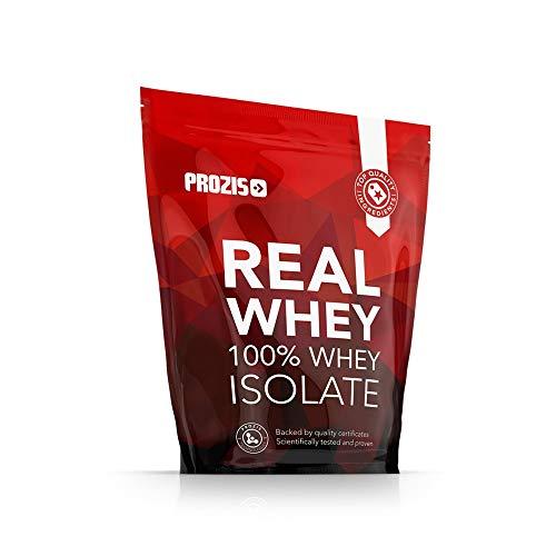 Prozis 100% Real Whey Isolate Protein - Proteína con Sabor a Chocolate para Pérdida de Peso, Recuperación Muscular y Culturismo, 1kg, 40 Dosis