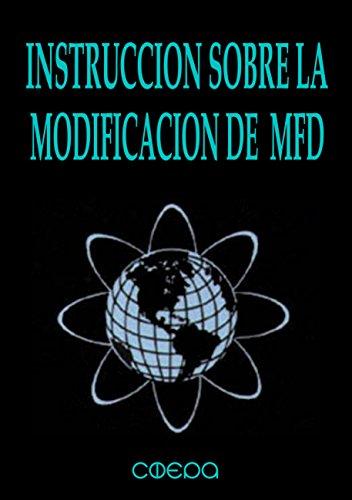 Instruccion sobre la Modificacion de MFD: (Discriminadores de Frecuencia Molecular) (Resonancia Gravitatoria) por Veselin Bozhikov