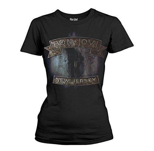 Bon Jovi New Jersey T-Shirt schwarz XXL -