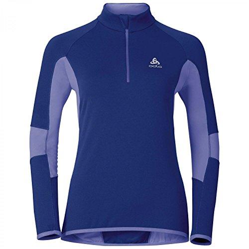 Odlo Sweat-shirt Dioxide de Cross Bleu - indigo-dusted peri