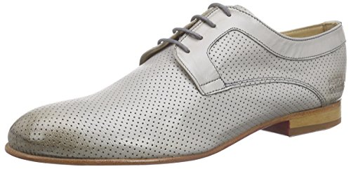 Melvin & HamiltonSally 37 - Scarpe stringate Donna , Grigio (Grau (Salerno Perfo Light Grey, LS)), 36