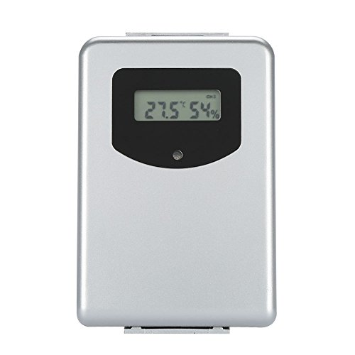 Fdit Digital Wireless Wetterstation Wecker Thermometer Outdoor Innentemperatur