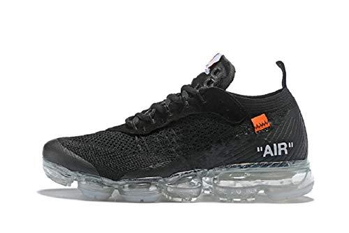 33a60577c858 Vapormax 2018 Hommes et Femmes Chaussures de Sport de Plein air Coussin  d air Chaussures de Course Chaussures de Sport (42 EU