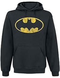 Batman Logo Kapuzenpulli schwarz