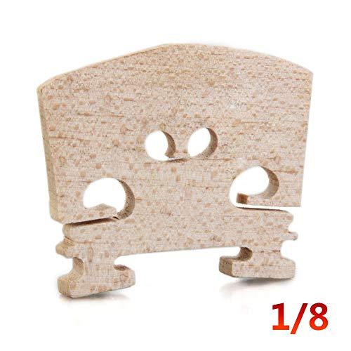0.75-unzen-paket (cedarfiny Maple Wood Acoustic Violin Bridge 5-tlg. Violin Kit, regulärer Typ 1/16 1/8 1/4 1/2 3/4 4/4 Größe)