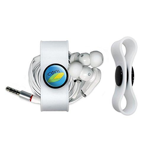 Mais COB auf Blau Kopfhörer Kopfhörer Cord Wrap–Ladekabel -