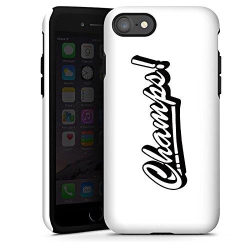Apple iPhone X Silikon Hülle Case Schutzhülle Proownez Fanartikel Merchandise Champs Tough Case glänzend