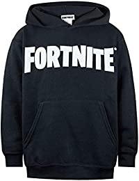 Fortnite Logo Kids/Boys Black Hoodie