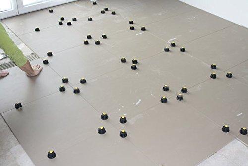 Nivelliersystem Gewindelaschen 2mm von KARL DAHM 250 Stück 12454, Fliesen Nivelliersystem, Verlegesystem, Fliesen plan verlegen.