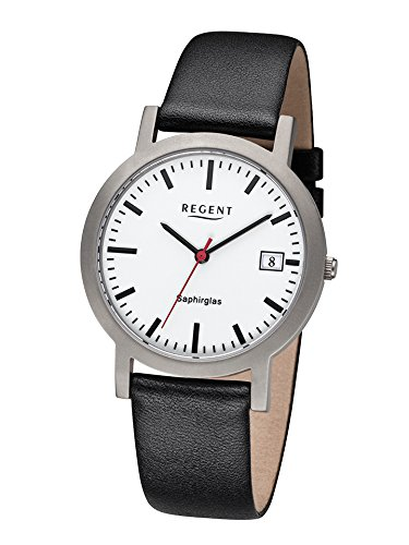 regent-mens-f1108-station-clock-with-sapphire-crystal-titanium-with-leather-strap
