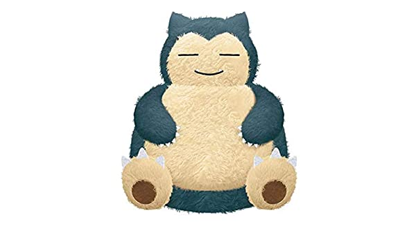 Giant Snorlax Pokemon Cushion is the Cutest Bed for Kids Peluche ...
