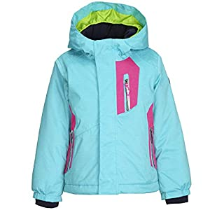 Killtec  Mädchen Fipsy Mini Skijacke / Funktionsjacke mit Kapuze und Schneefang, GROW UP Funktion – Kindermode die mitwächst