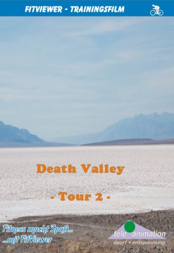 Death Valley - Tour 2 - FitViewer Indoor Video Cycling USA