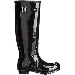 Hunter Boots Original Tall Gloss - Botas De Agua De Caña Alta Unisex La Nieve Lluvia Zapatos Para Mujer
