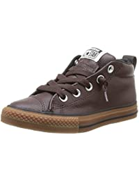 Converse Chuck Taylor All Star Junior Street Leather Mid 384660 Unisex - Kinder Sneaker