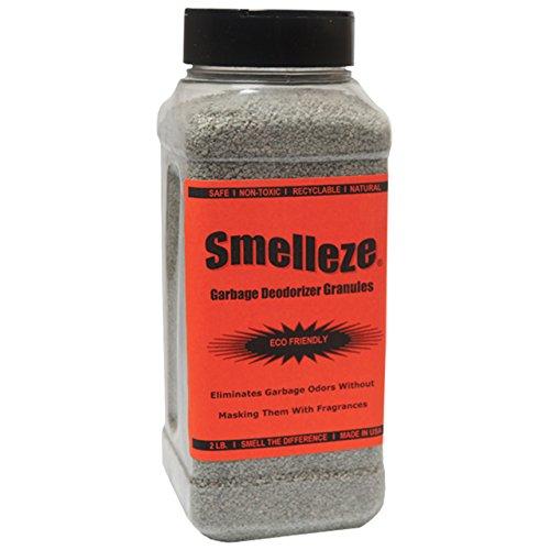 SMELLEZE Natural Trash Geruch Entfernung Deodorizer: 50 Pfund Granulat Destroy Müllcontainer Stink
