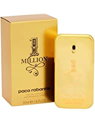 Paco Rabanne One Million homme/men, Eau de Toilette, Vaporisateur/Natural Spray, 1er Pack (1 x 50 ml)