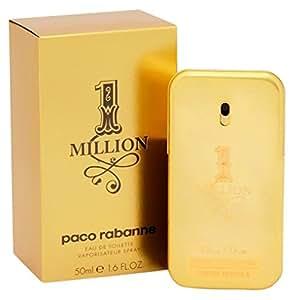 Paco Rabanne One Million homme/men, Eau de Toilette, Vaporisateur/Natural Spray, 1er Pack (1 x 50 ml)