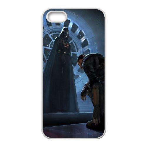Darth Vader 999 coque iPhone 4 4S Housse Blanc téléphone portable couverture de cas coque EBDXJKNBO14598