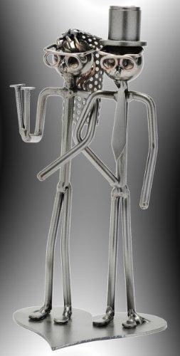 Boystoys HK Design - Schraubenmännchen Brautpaar 'Hochzeit Herz Traumpaar' - Metall Art...