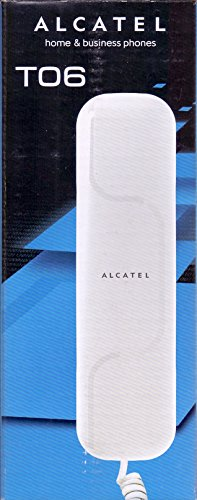 Alcatel T06 Corded Landline Phone (White)