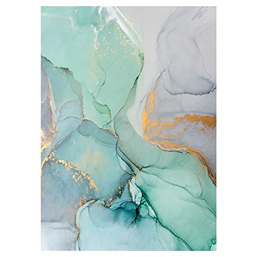 Lienzo de arte abstracto de estilo nórdico