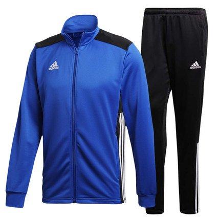 adidas Herren Regista 18 Polyesteranzug Trainingsanzug, Bold Blue/White, XXL
