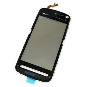 Original Nokia 5800 Touchscreen/ Display Glas mit Folie und Flexkabel