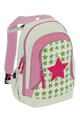 Lässig Mini Backpack Big Kinderrucksack Kindergartentasche,Starlight magenta