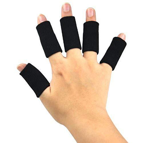 TRIXES 10x Fingerbandagen Fingerschützer bei Überdehnung oder als Sporthilfe