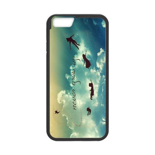 """Peter Pan Disney en silicone TPU pour Apple iPhone 6S (4,7""""inch), étui iphone 6S Hard Case Cover, iPhone 6(4.7inch) Case, beau design Coque de protection pour Apple iPhone 6/6S"""