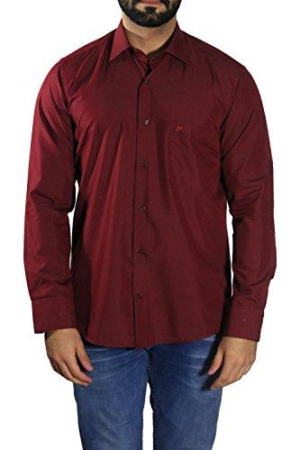 Herren Hemden leicht tailliert MUGA Bordeaux