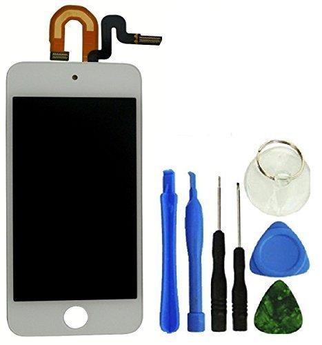 eInc™ Touch Screen Digitizer und LCD Assembly für iPod Touch 5. Generation 16GB 32GB 64GB (Weiß) (Ipod 5. Generation 16 Gig)