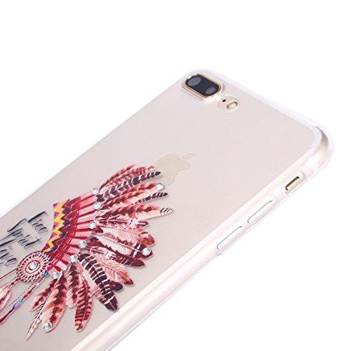 custodia iphone 7 con brillantini