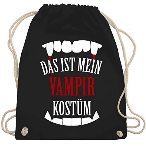 Halloween - Das ist mein Vampir Kostüm - Unisize - Schwarz - WM110 - Turnbeutel & Gym Bag