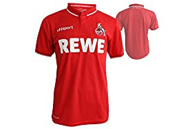 uhlsport 2018/2019 Herren 1. Fc Köln Auswärtstrikot, rot/weiß, L