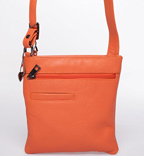 Ledertasche MADISON von JOSYBAG papaya