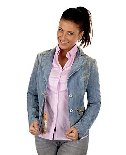 REPLAY Jeansjacke Damen Kollektion 1 leichte Jacke jacket Cord Blue Denim (Medium, Modell 1 Blue Denim) (Core-denim-jacke)