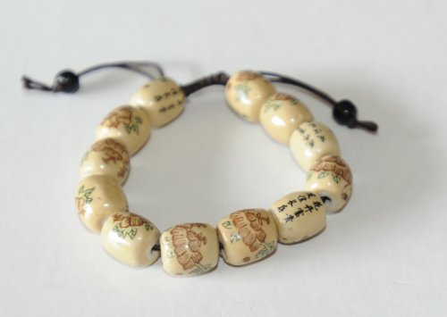 hand-crafted-chinese-friendship-bracelet-with-14-hand-painted-ceramic-beads-and-adjustable-chord-uni