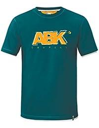 ABK Goody Tee Camiseta de Manga Corta, Hombre, Azul (Mediterranean), M