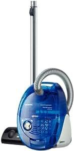 Siemens VS06G2080 Aspirateur traîneau avec ou sans sac, accessoires inclus Bleu transparent 2200W