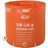 Thicker Clamp PVC Foldable Bath Tub Adult Free Inflatable Bathtub