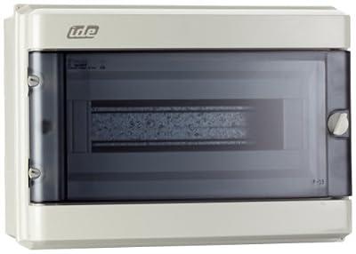 Unitec 47103 AP - FR - Kleinverteiler IP 55, grau 12 Module von Unitec auf Lampenhans.de