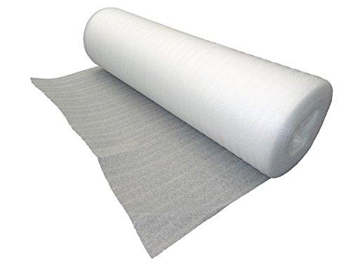 NIPS 118806209 Schaumfolie Pe-Packschaum Rolle 1 m x 25 m Stärke, 2 mm, weiß thumbnail