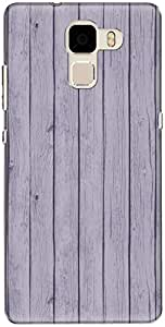 The Racoon Lean printed designer hard back mobile phone case cover for Huawei Honor 7. (Violet Pri)