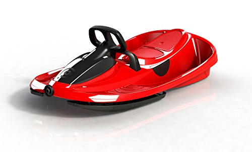 Gizmo Riders Lenkschlitten Steerable Sledges Stratos, Racing Red, 41104201