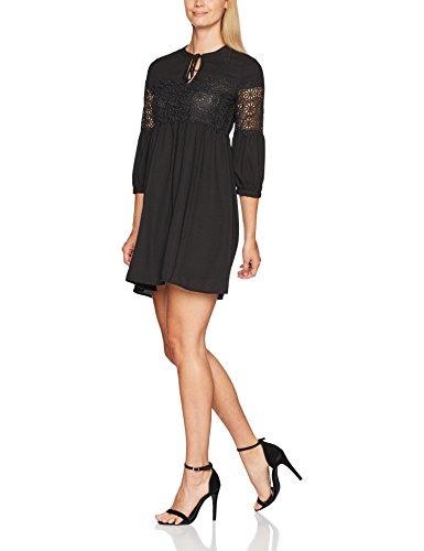 Naf Naf Lentel R1, Robe Femme, Noir (Noir), 36 (Taille Fabricant: 36)
