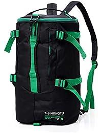 Smnyi Gran Capacidad Color sólido Bolso Totalizador Aptitud Outdoor Sports  Bag Unisexo Yoga Bolso de Crossbody e7c24fd273eb0
