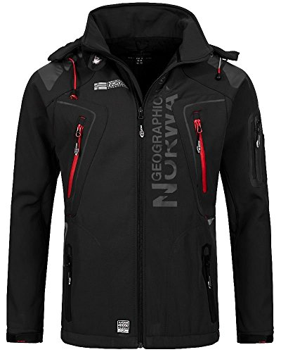 Geographical Norway Herren Softshell Funktions Outdoor Jacke wasserabweisend Test