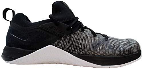 Nike Herren Metcon Flyknit 3 Triathlonschuhe, Mehrfarbig Black-White-Matte Silver 001, 45 EU